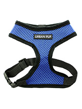 Royal Blue Soft Harness - Our Royal Blue Soft Harness has been designed by Urban Pup to provide the ultimate in comfort and safety. It features a breathable material for maximum air circulation that helps prevent your dog overheating and is held in place by a secure clip in action. The soft padded breathable side covers the...