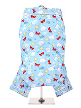 Blue Ocean Bedtime Pyjamas - These funky Blue Ocean PJs will ensure that your little one is all comfy and cozy at bedtime, and they look great! These super-soft quality pyjamas that are crafted from soft and breathable cotton that keeps them comfy and warm from sunset to sunrise.