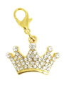Royal Crown Swarovski Dog Collar Charm