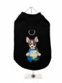 Harness-Lined Dog T-Shirt